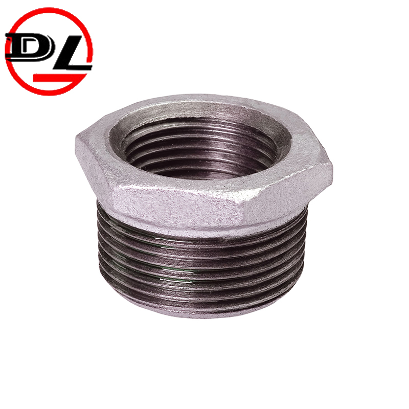 malleable iron pipe fitting pipe bushing