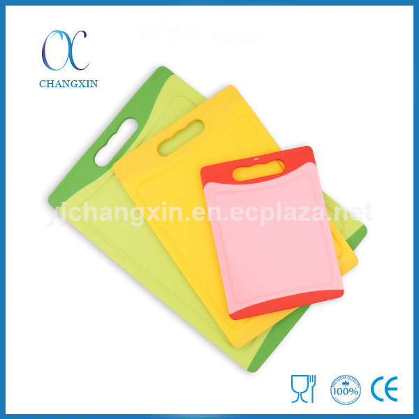 Hot Sale Cutting Boards Kitchen Plastic Chopping Board Set