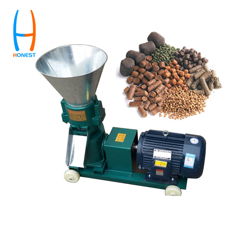HONEST 120 Farm Use Poultry Feed Making Pellet Mill Machine