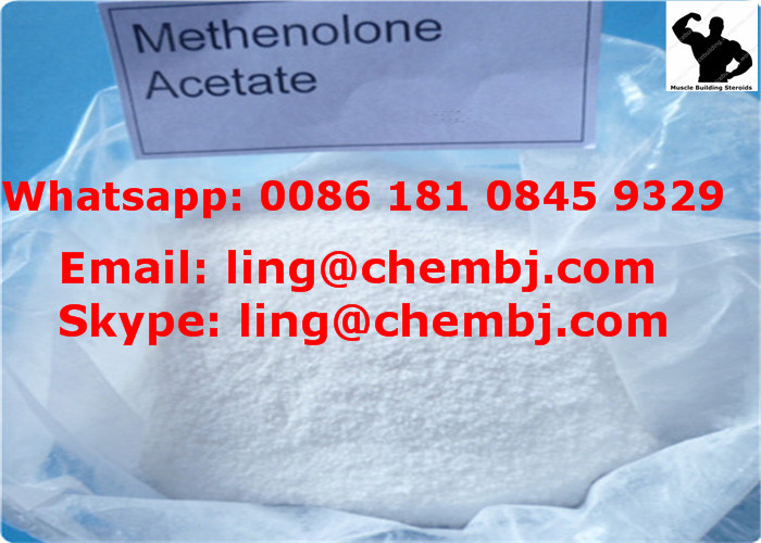 Mestanolone Acetate DHT Muscle Building CAS 521-11-9 Raw Steroid Powders