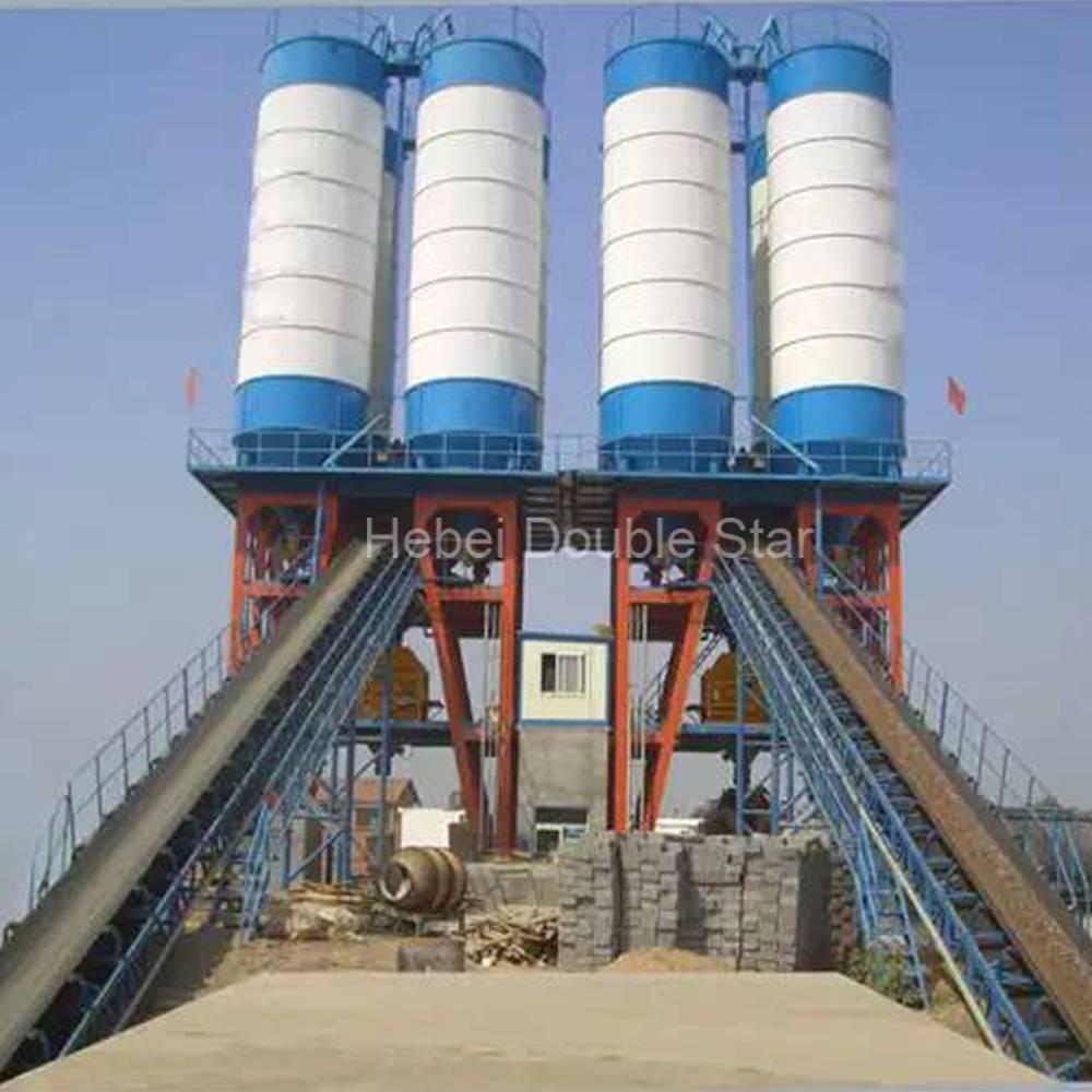 HZS75concrete batching plant