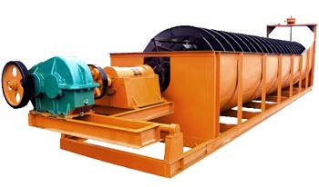 Spiral classifier for mineral beneficiation
