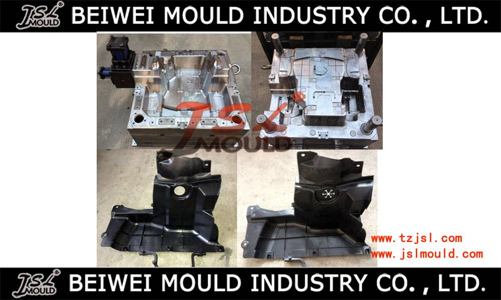 Injection auto mudguard mould plastic tooling
