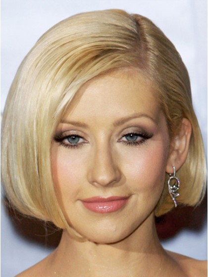 Short Straight Synthetic Hair Bob Wig