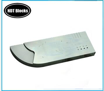 NDT UT Phased Array Calibration Block Type A