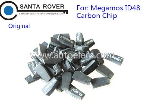 Original Megamos ID48 Carbon Transponder Chip