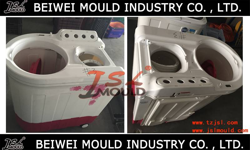 OEM Custom injection plastic twin tub washing machine mould