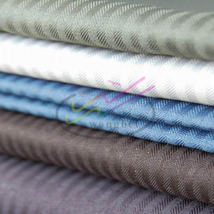 Herringbone pocketing and lining fabric