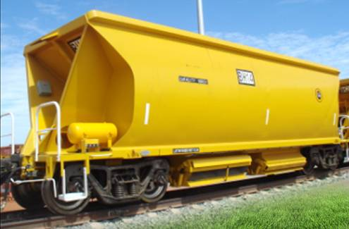 CRRC FMG Ballast hopper wagon for Australia