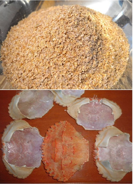 Crab shell powder for Chitin Industry with High Quality and Best Price