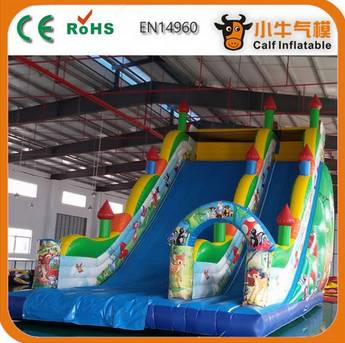 Most popular trendy style most popular dry forest inflatable slide with good offer