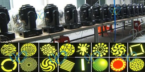 DMX512  60W LED Moving Head  Light