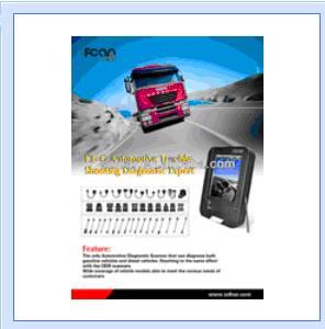 Fcar F3-d Heavy Duty Truck Professional Automotive Diagnostic Scanner
