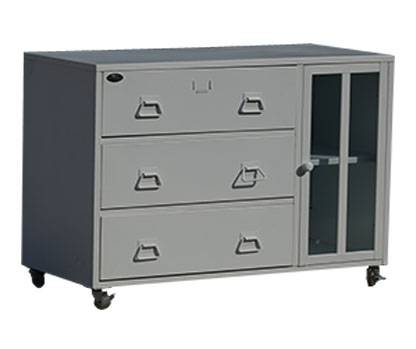 CBNT one door drawers castered storage cabinet