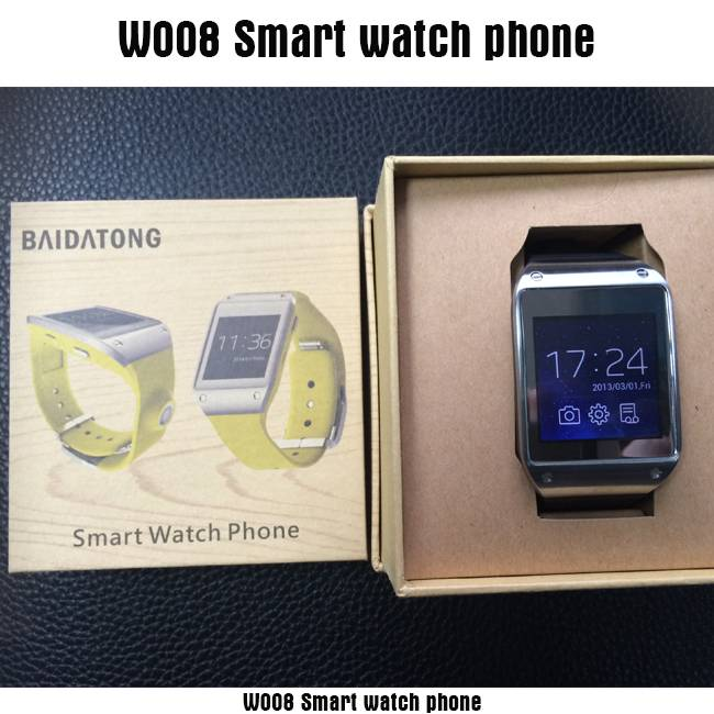 waterproof Android watch phone dual core 1.2GHz Android 4.0 GSM Smart phone watch with touch screen