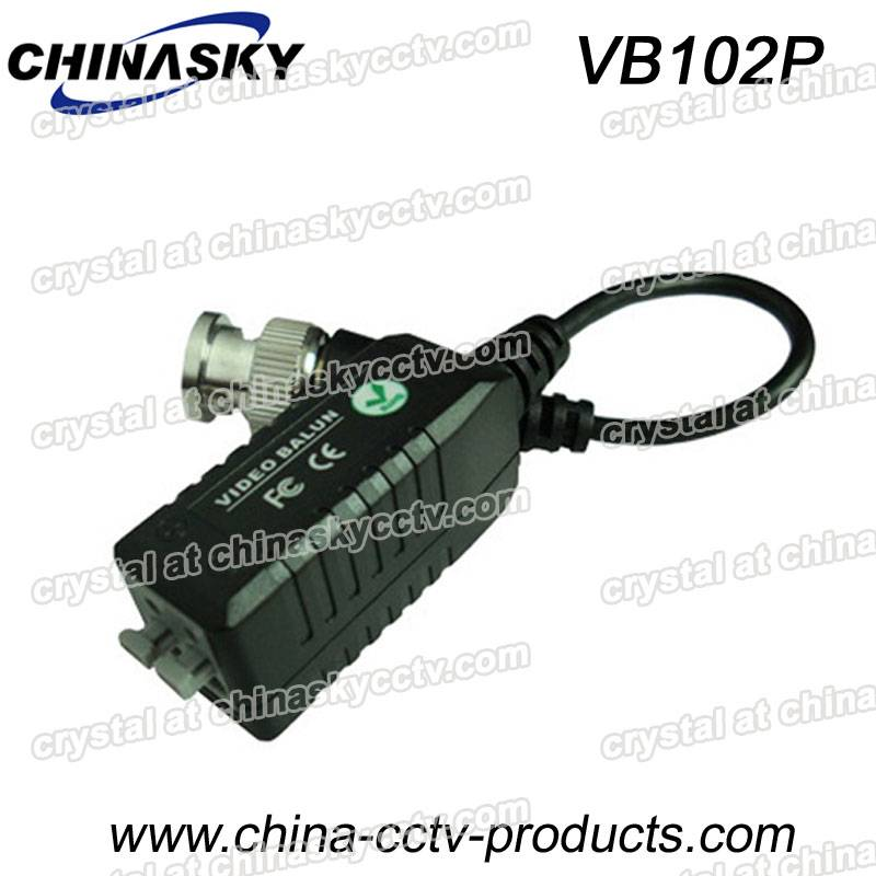 1ch Passive CCTV Video Balun with Screwless Terminal Block