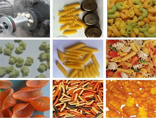 Automatic food processing machinery Italy pasta macaroni making machine