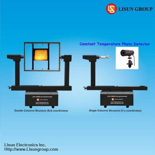 LSG-1800B High Precision Goniophotometer meets IES standard format and can be applied for lighting d