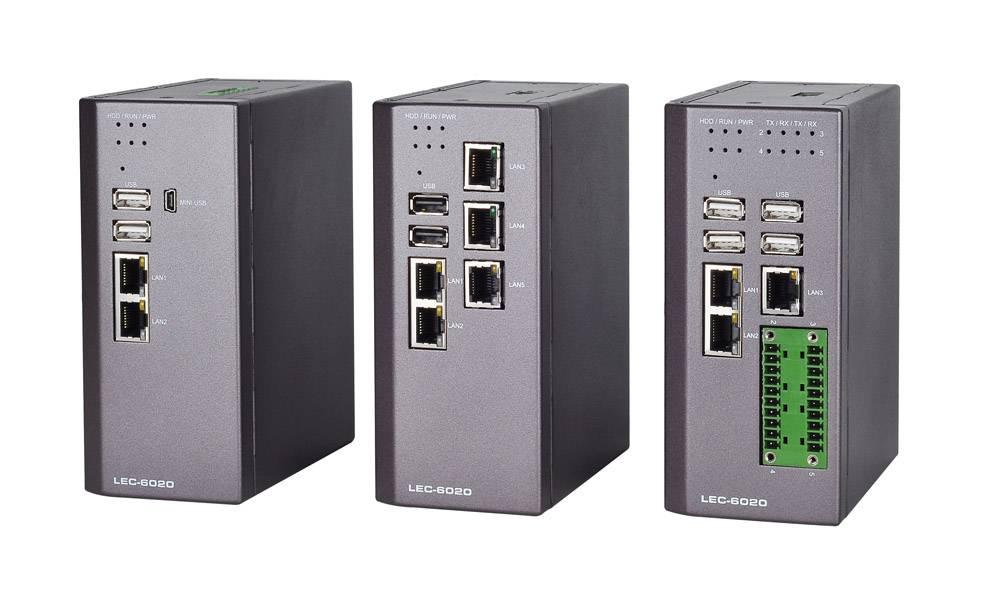 Fanless Industrial DIN Rail Security Platform with Intel® Atom™ N2600 CPU