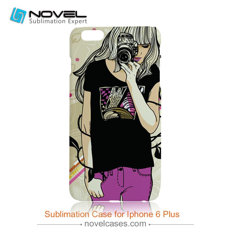 2017 Newest DIY 2D Sublimation Phone Case for Iphone 7plus