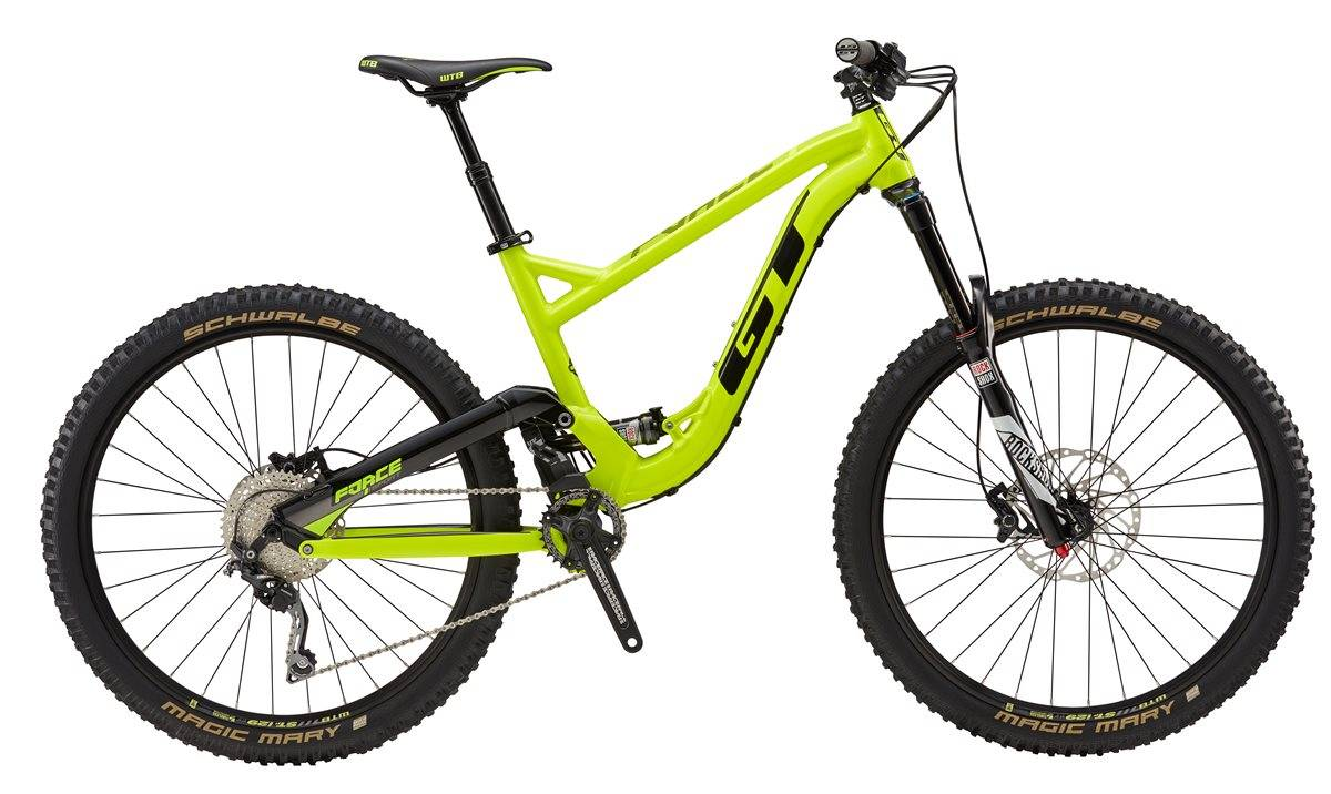 GT Force Sport Mountain Bike 2017 - Full Suspension MTB