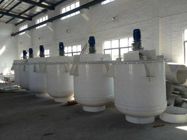 polypropylene anti-corrosive mixer tank