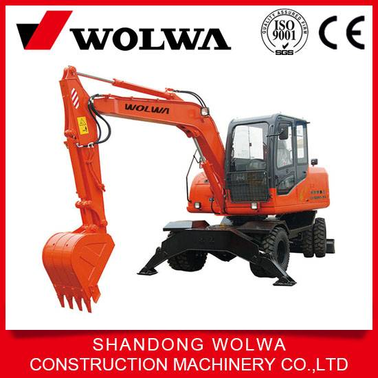high quality DLS890-9A 0.4 bucket wheel hydraulic excavator with advantaged technology