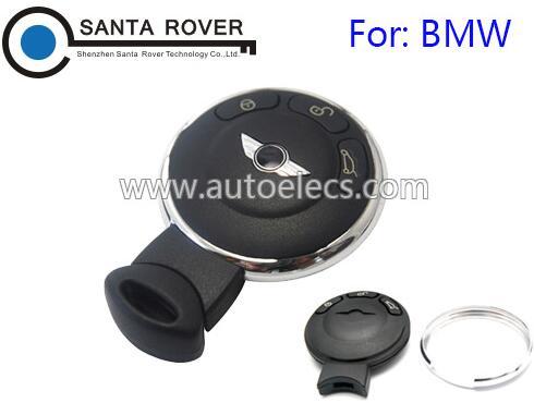For BMW Mini Cooper Remote Key Shell Case 3 Button