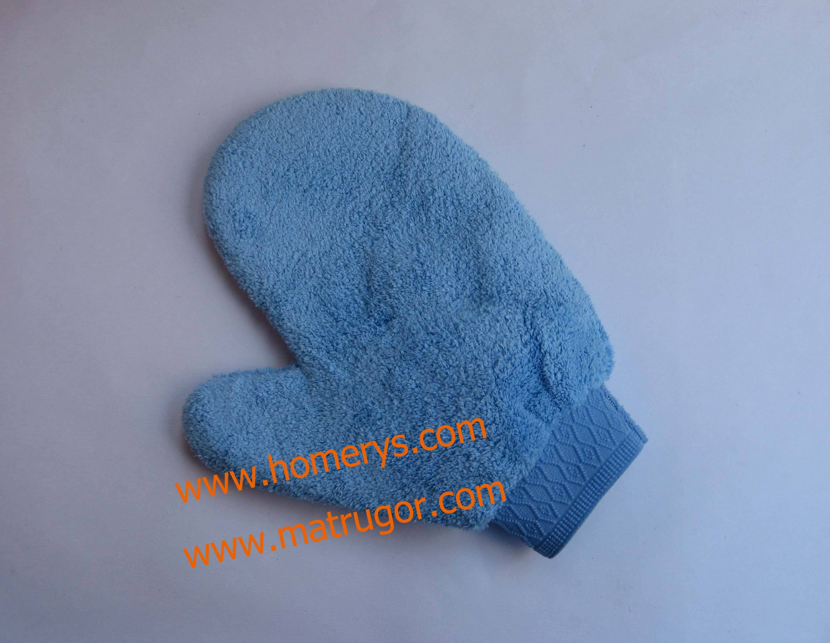 Microfiber Coral Mitt for Car Care