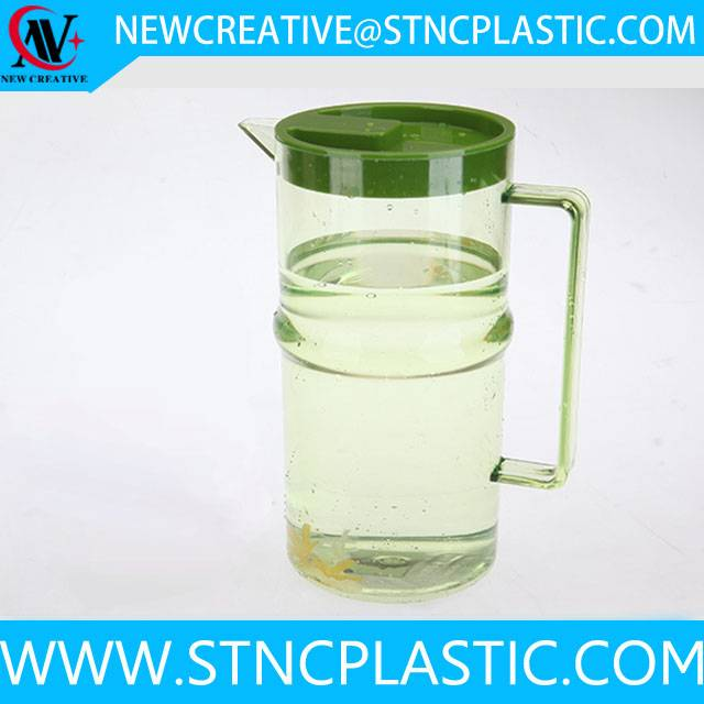 clear plastic jug with side handle 2.2L wholesale price