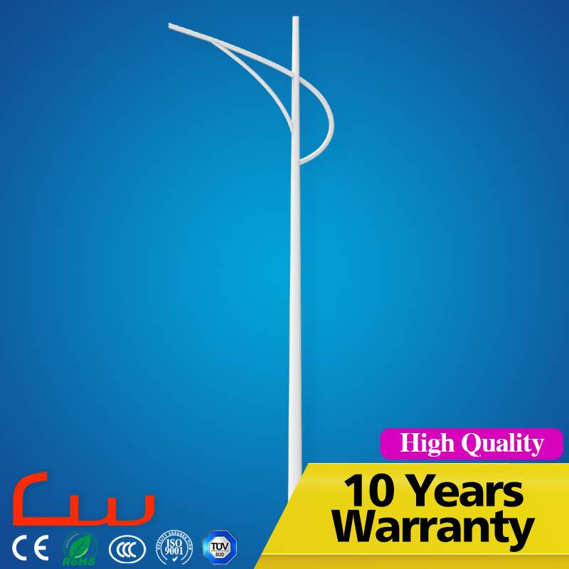 CE ROHS TUV CCC CQC ISO9001hot-dip galvanization 3-12 meters LED street lighting pole price