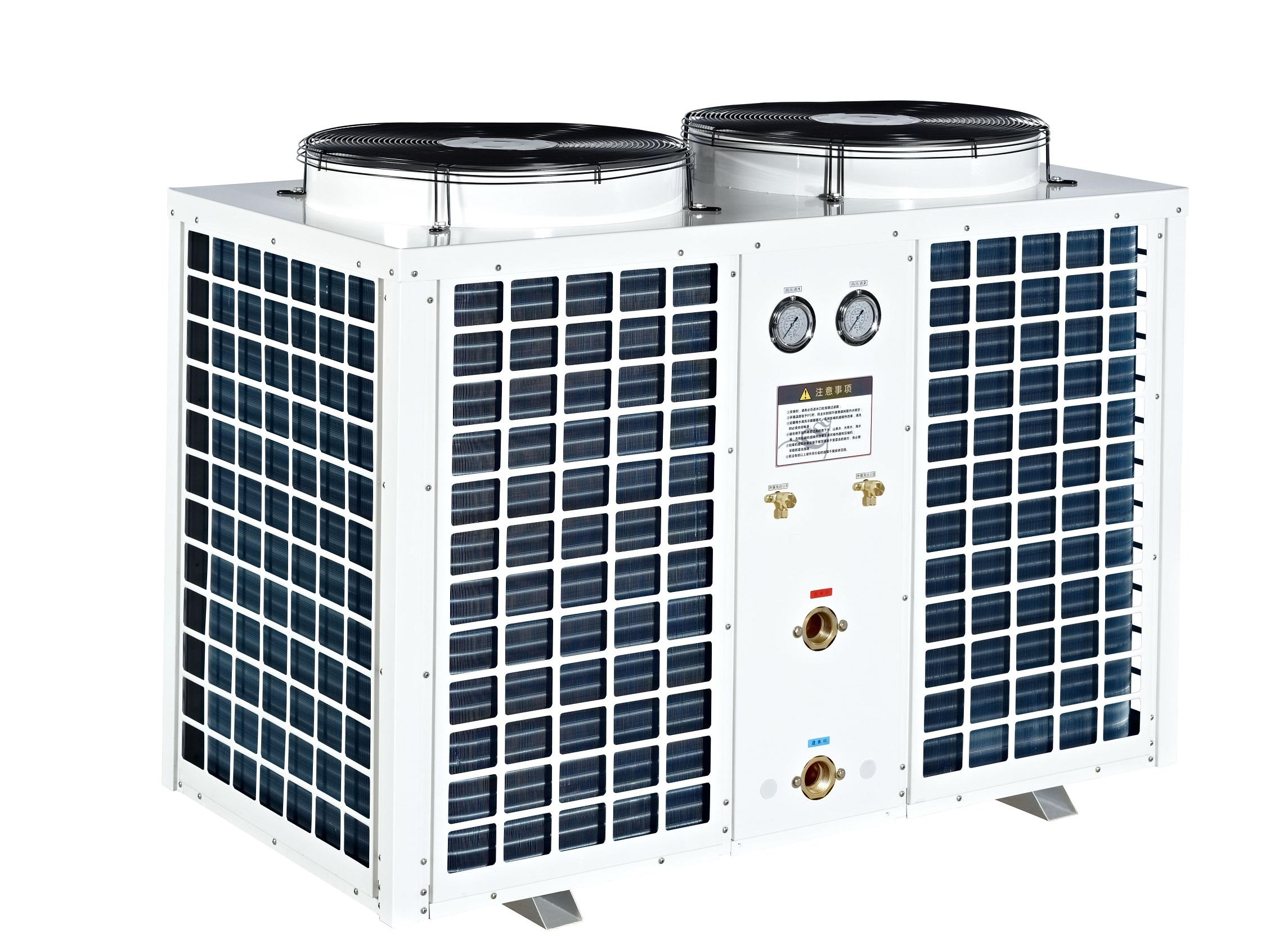 Air source swimming pool heat pump