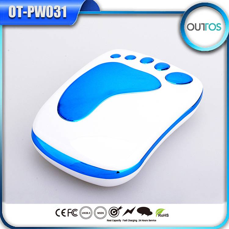 Footprints Power Bank for promotional