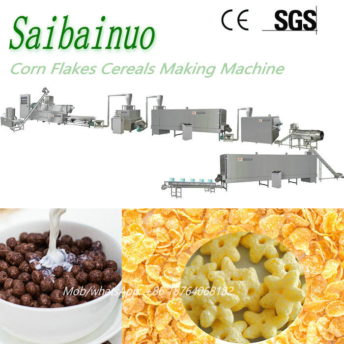 Automatic Breakfast Cereal Making Machinery
