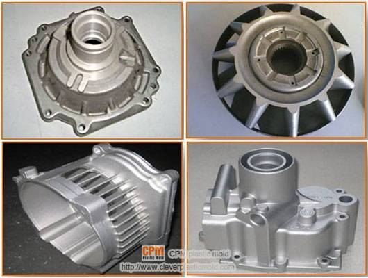 plastic injection mould-die casting part