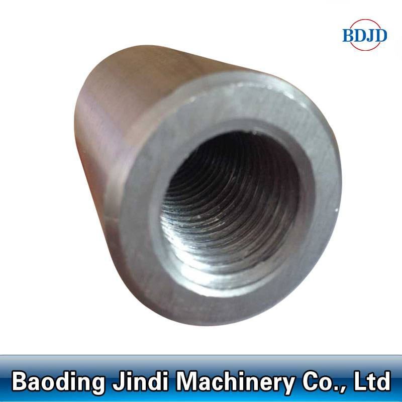 metal building materials mechanical threaded rebar couplers