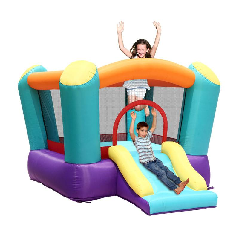 Cheap kids indoor party game inflatable bouncing house