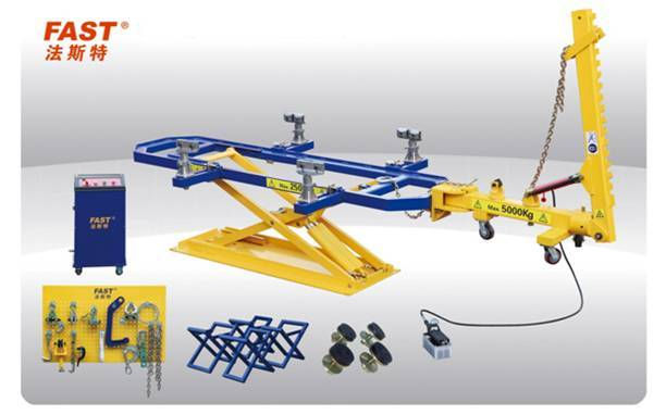 U4 CE approved auto body frame machine