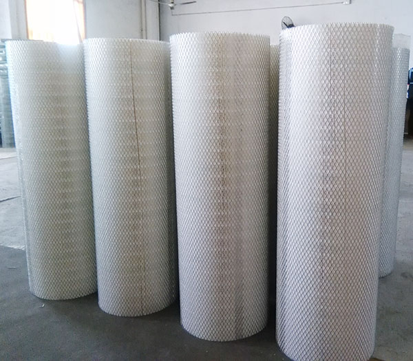 High efficiency air filter for industrial dust collector