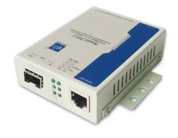10/100/1000M Ethernet SFP Media Converter