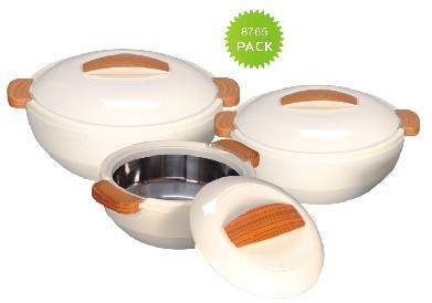 3PCS Insulated Food Server/Vacuum Lunch Box