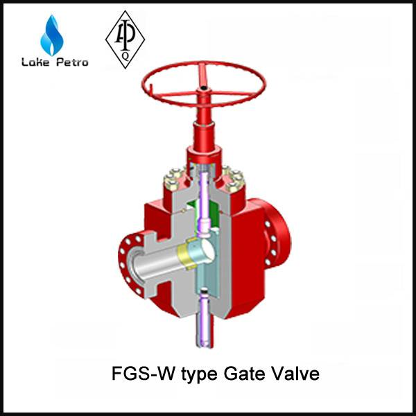 LAKE API FGS-W type Gate Valve In Oilfield