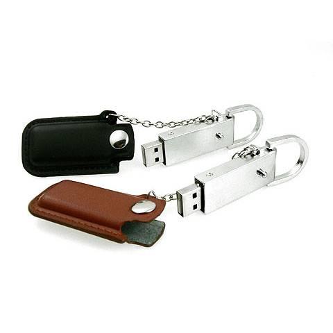 1GB 2GB 4GB 8GB 16GB 32GB PU Leather USB Pen Drive Embossing Logo