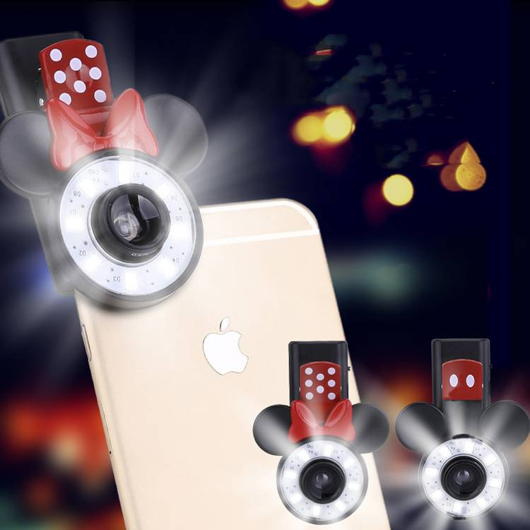 cute cartoon mickey selfie light with patent
