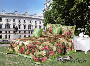 Jacquard bedspread set