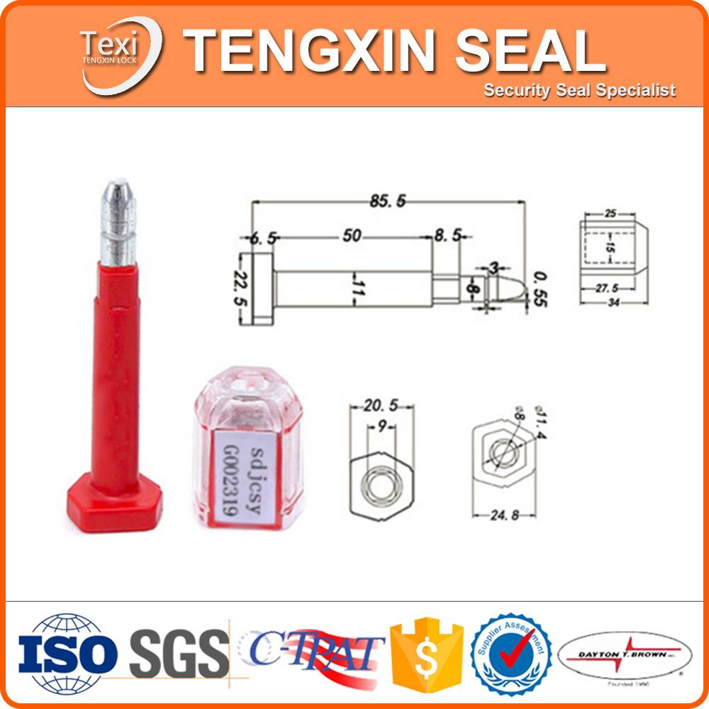 shipping company security bolt seal lock