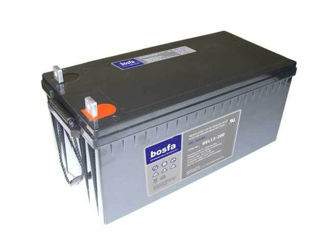 GEL12-200 12v 200ah gel battery acid battery 12v battery rechargeable 12 volt batteries dry sealed l
