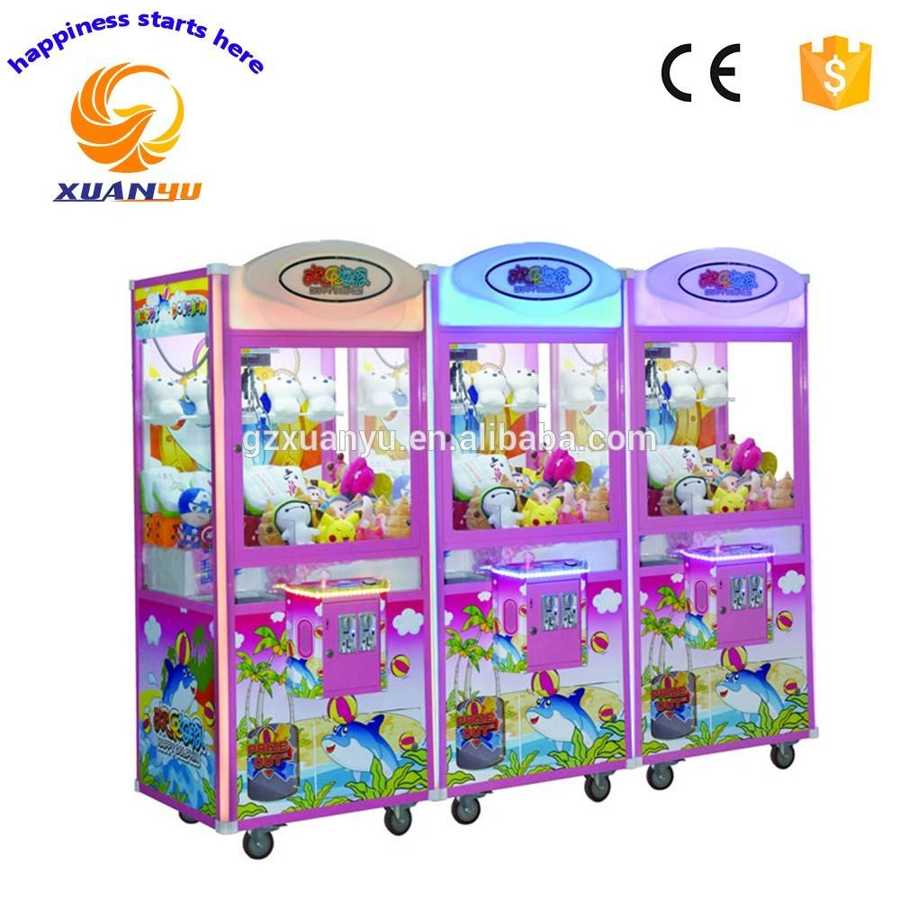 2016 XY-GM002 Happy dolphin series arcade claw machine for sale