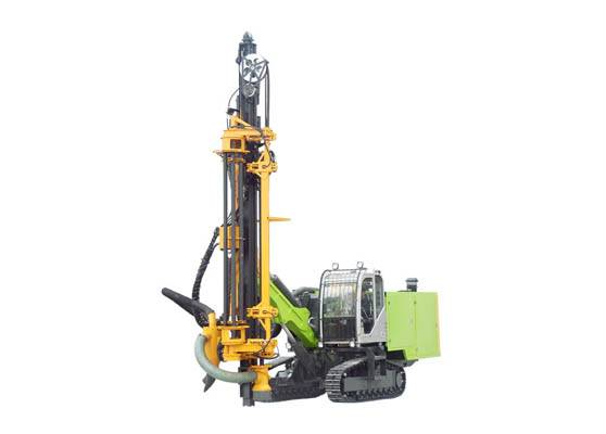 China best seller 266KW 17 Bar Integrated DTH Drilling Rig ZGYX450