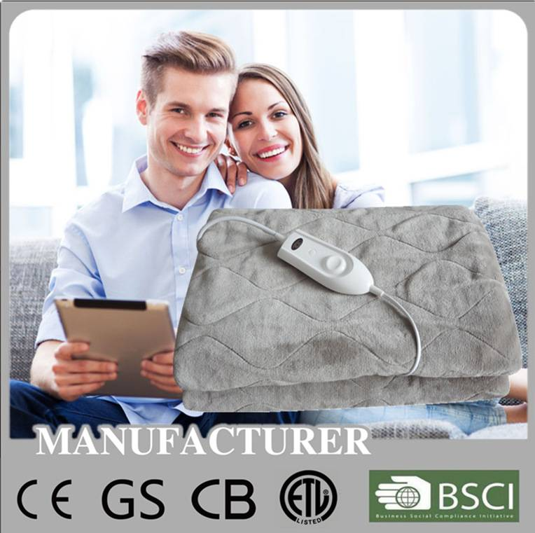 USA market electric over blanket with ETL UL